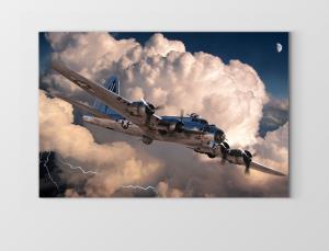Ulaşım Araçları Tabloları Uçak Tabloları Kanvas Tablo Modelleri
