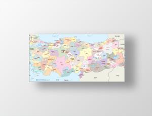 Harita Tablo Kanvas Tablo Modelleri Ve Kişiye özel Tablo Satın Al
