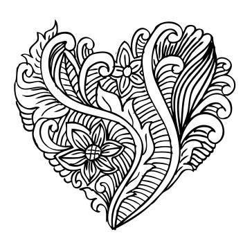Kalp Boyama Tablo Boyama Tabloları Tablosu Tablodenizicom