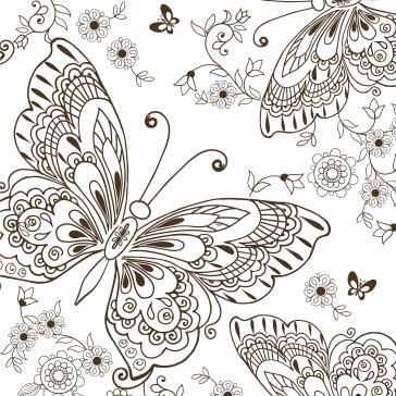 Kelebekler Boyama Tablo Boyama Tabloları Tablosu Tablodenizicom