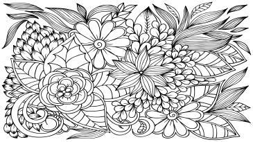 çiçekler Boyama Tablo Boyama Tabloları Tablosu Tablodenizicom