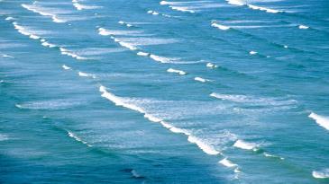 Dalgalı Deniz Yağlıboya Manzara Tabloları Deniz Manzara