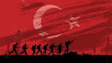 Turk Askeri Ve Turk Bayragi Ataturk Tablolari Politik Tablolar