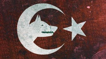 Bozkurt Ve Turk Bayragi Ataturk Tablolari Politik Tablolar